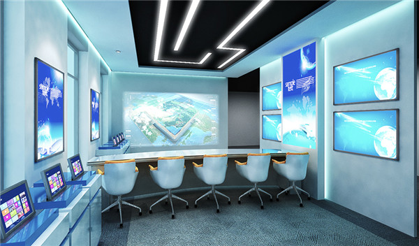 华天海峰科技展厅