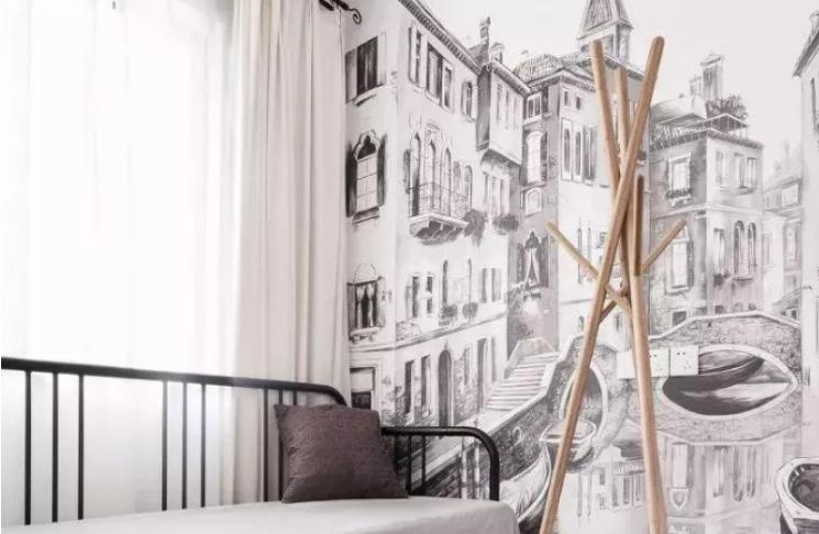 墙壁上的艺术-室内壁画设计