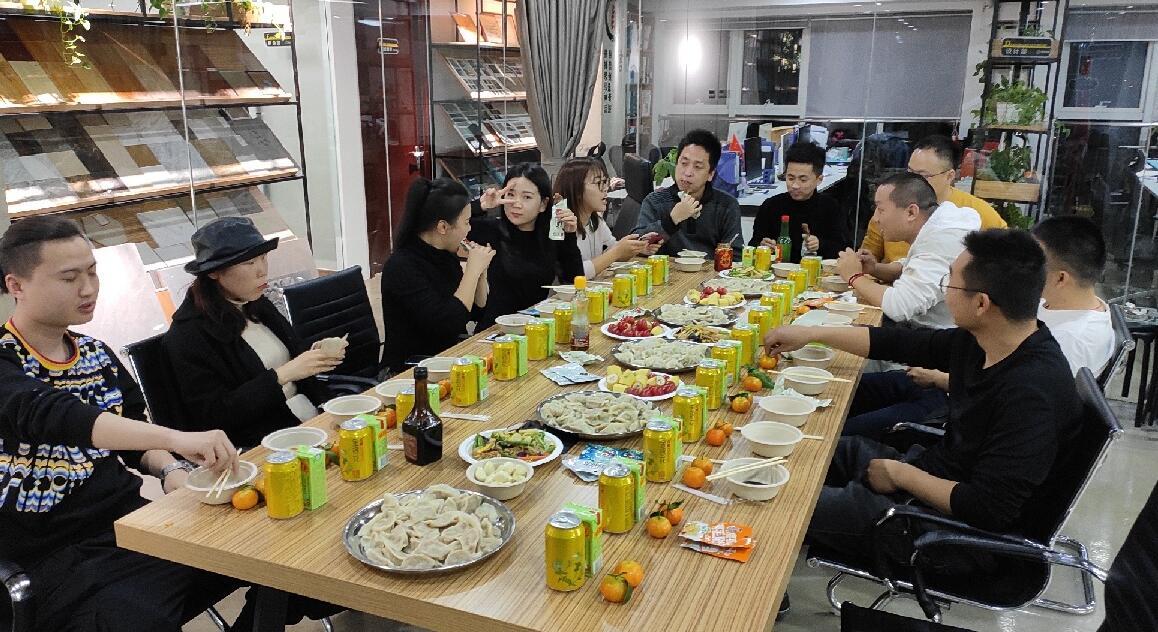 【汇美聚餐】冬季吃饺子,天渐寒心亦暖