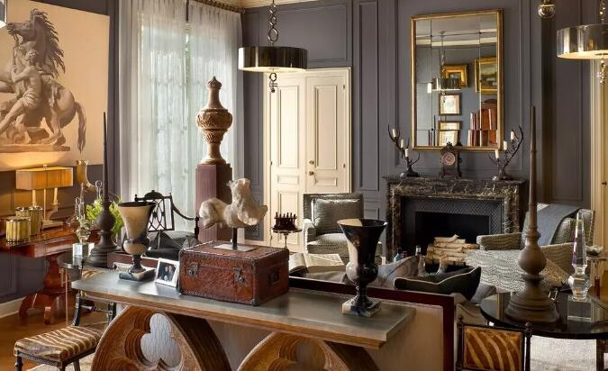 艺术品的陈列与装饰让空间更有内涵