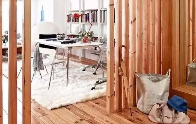 没想到吧,栅栏也能用在室内!